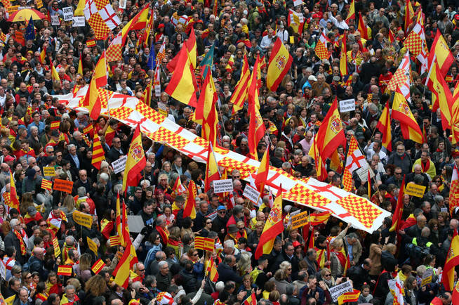people-protest-during-a-pro-spanish-demonstration-held-by-tabarnia-platform-in-barcelona-spain-march-4-2018-reuters-albert-gea